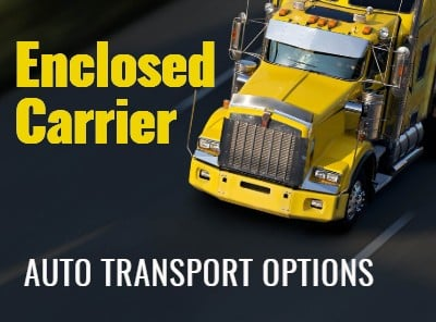 Enclosed Carrier Auto Transport