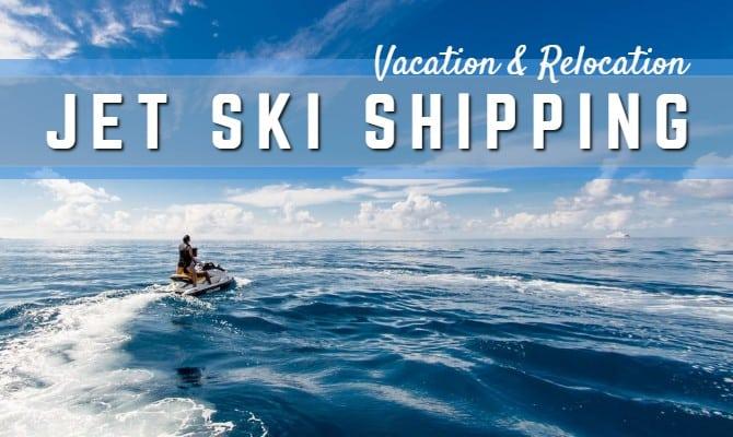 shipping jet ski